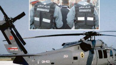 صورة الدرك يستعين بمروحية لإيقاف أربعيني قتل زوجته وابن شقيقه