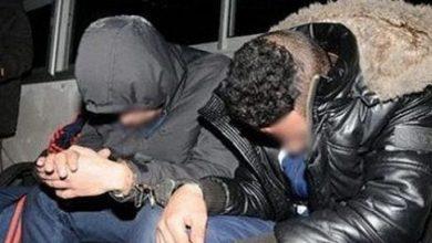 صورة توقيف شخصين ينشطان في سرقة وتزوير السيارات بطنجة