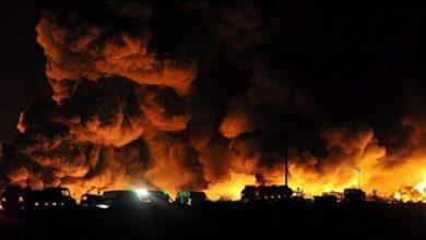 صورة وزارة الدفاع الإيرانية تكشف حقيقة انفجار طهران الضخم