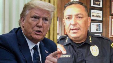 صورة قائد شرطة هيوستن يطالب ترامب بإغلاق فمه