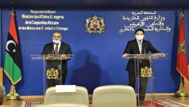 صورة بوريطة للمشري: حل الأزمة الليبية في تحيين المؤسسات وسيظل المغرب فضاء للحوار