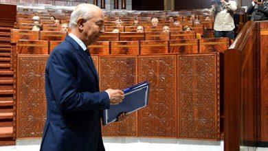 صورة قضاة جطو ينجزون تقريرا حول تنفيذ أول قانون مالية أنجزته حكومة العثماني