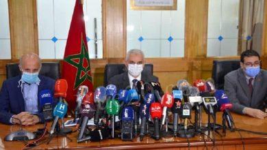 صورة وزير الصحة: الحالة الوبائية بالمغرب مقلقة وأتفهم أن الجميع مقلق وغضبان لكن الحالة الوبائية لم تترك لنا خيار