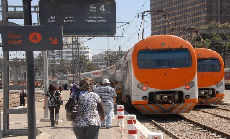 صورة المكتب الوطني للسكك الحديدية: 350 ألف مسافر منذ 25 يونيو المنصرم