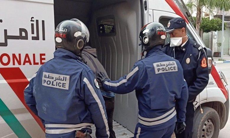 صورة أمن البيضاء يوقف 5 محسوبين على مشجعي فريقين بتهم العنف والتخريب