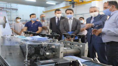 صورة تقديم جهاز مغربي 100 في المائة لتصنيع الكمامات الواقية