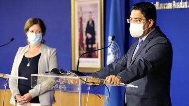 صورة بوريطة يؤكد دعم المغرب ومواكبته للجهود الأممية لحل الأزمة الليبية