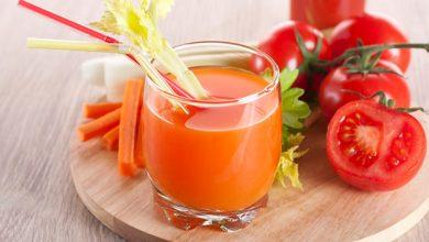 صورة عصير الطماطم لعلاج فقر الدم