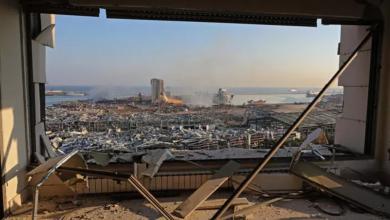 """صورة حسان دياب: انفجار بيروت نتج عن 2750 طنا من """"نيترات الأمونيوم"""" في مستودع بمرفأ العاصمة"""