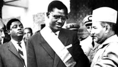 صورة محمد الخامس يرسل كتيبة عسكرية إلى الكونغو لدعم ثورة لومومبا
