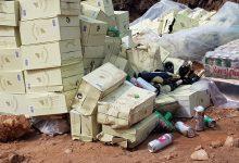 صورة إتلاف 20 ألف قنينة من المشروبات الكحولية بجماعة حد السوالم