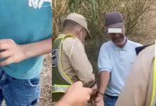 صورة ضبط خمسيني في حالة تلبس بالاعتداء الجنسي على قاصر مقابل  10 دراهم بطنجة