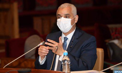آيت الطالب يؤكد أن البؤر الوبائية أثرت سلبا على التحكم في الوضعية الوبائية