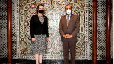 صورة سفيرة كندا بالمغرب تشيد بمبادرات المغرب الإنسانية تجاه دول افريقية ولبنان