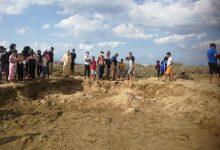 صورة احتجاج سكان بتطوان ضد مافيا نهب الرمال
