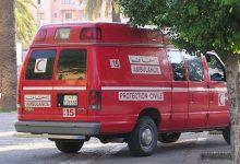 صورة مريض عقلي يسرق سيارة إسعاف بمدينة العيون
