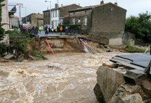 صورة فيضانات مفاجئة في جنوب فرنسا تخلف خسائر مادية كبيرة