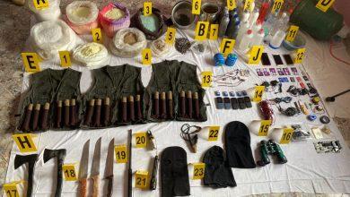 """صورة تفاصيل """"المواجهة الكبرى"""" خلال اعتقال 5 إرهابيين قبيل الساعة الصفر من استهدافهم لمنشآت حساسة"""