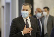 صورة رئيس الوزراء اللبناني المكلف مصطفى أديب يعلن تنحيه عن منصبه