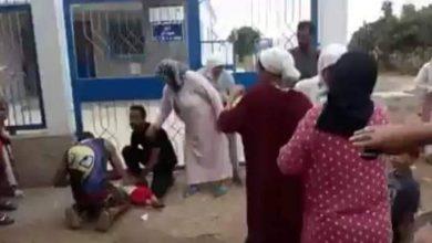صورة التحقيق في وفاة طفلة أمام مركز صحي بشفشاون