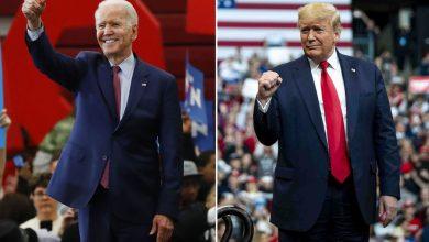 صورة تفاصيل الهجوم المتبادل بين ترامب وبايدن في السباق الرئاسي