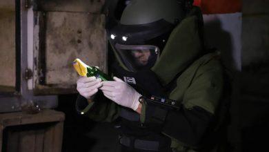 صورة العثور على عربة تبريد ومواد متفجرة في ملكية المشتبه الرئيسي في خلية 10 شتنبر الإرهابية