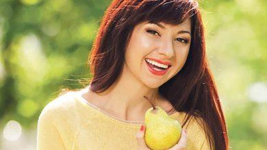 صورة التفاح والإجاص يخلصانك من الوزن الزائد