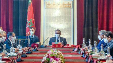 الملك،محمد السادس،اجتماع المجلس الوزاري