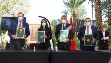التوقيع بمراكش على مذكرة تفاهم مشتركة لإنشاء وتطوير مشاريع سياحية بـ1,3 مليار درهم