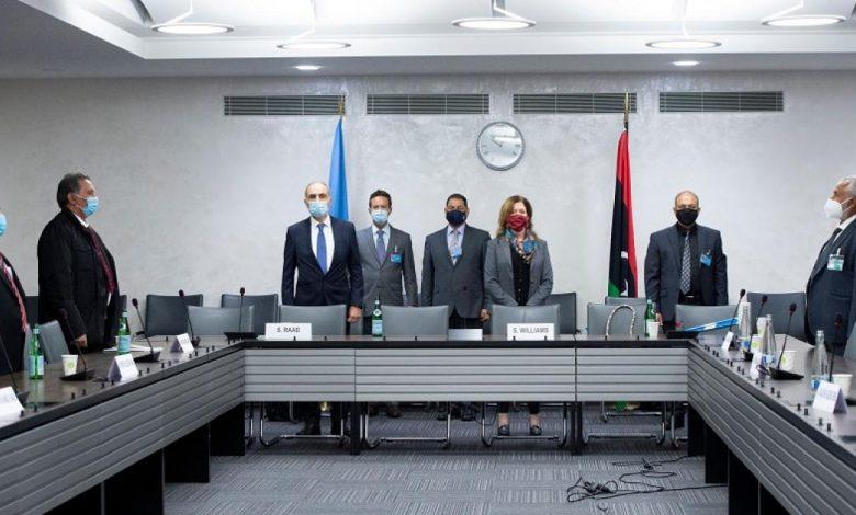 اتفاق ليبي بجنيف على التهدئة العسكرية واستئناف النقل والتنقل داخليا