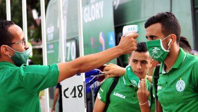 الرجاء يعلن عن 6 إصابات جديدة في صفوف لاعبيه بفيروس كورونا