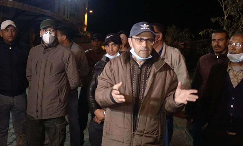 """إصابة باشا مدينة سيدي سليمان """"بكورونا"""""""