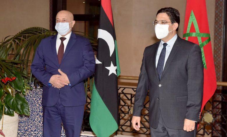 بحضور عقيلة صالح . . إشادة مغربية باتفاق وقف إطلاق النار في ليبيا