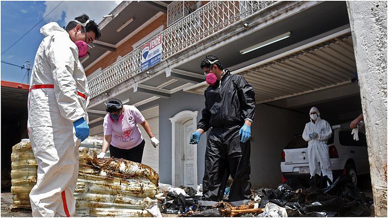 العثور بالباراغواي على جثث متحللة لثلاث مغاربة ومصري في حاوية للأسمدة الزراعية