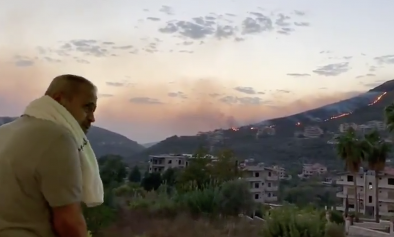 جورج وسوف،حرائق،سوريا