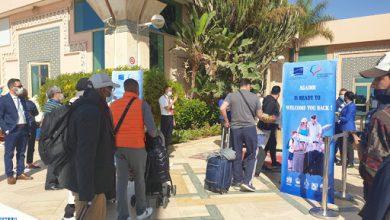 أكادير تستقبل أول مجموعة من السياح البريطانيين