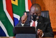 صورة إخضاع رئيس جنوب إفريقيا للحجر الصحي بعد مخالطته لمصاب بفيروس كورونا