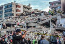 صورة هزة أرضية تهز إسطنبول وأزمير واليونان تخلّف 12 قتيلا وأزيد من 450 جريحا