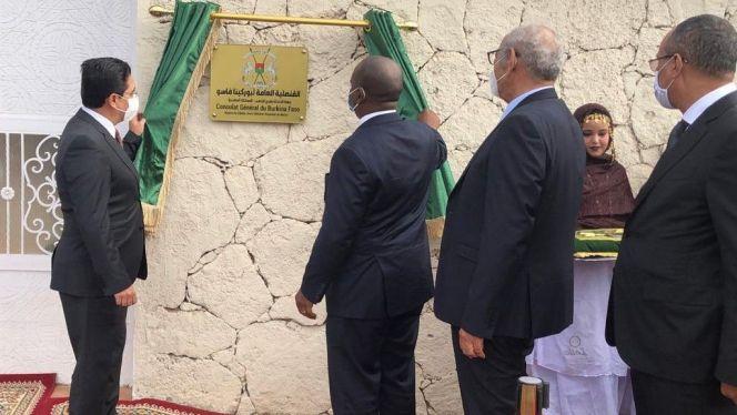 بوركينا فاسو وغينيا بيساو تفتتحان قنصليتين لهما بمدينة الداخلة