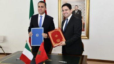 صورة بوريطة في إيطاليا لتعزيز علاقات التعاون الثنائي بين الرباط وروما